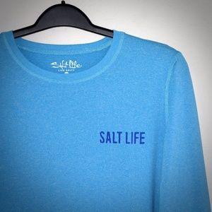 Salt Life Sunshine Saltwater SLX Shirt XL Shirt